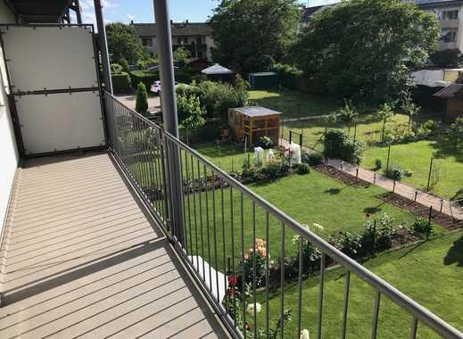 2 Zimmer Wohnung mit großem Balkon in Walldorf (Frisch renoviert)
