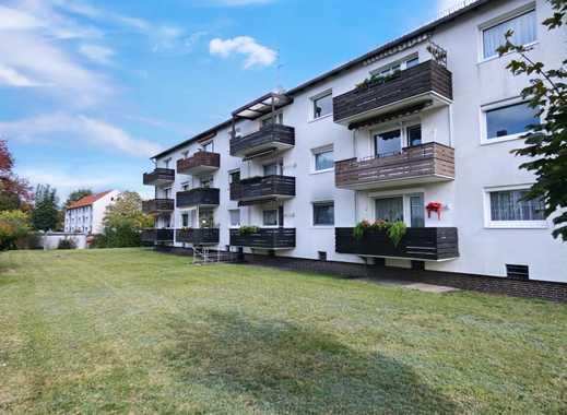 Schöne Aussicht! Ruhige 2-Zimmer Wohnung mit Balkon in Burgdorf