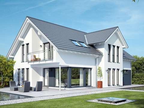 CELEBRATION 211 V2 – Elegantes Zweifamilienhaus mit Satteldach ...