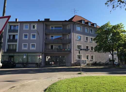 Erstbezug nach Sanierung mit Balkon: attraktive, ruhige 1-Zimmer-Wohnung in Pasing, München