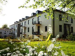 Fassadenansicht Garten
