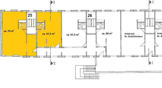 1.Obergeschoss links u. rechts