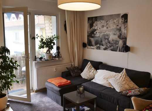 Schöne 2 Zimmer Wohnung mit Balkon, in zentraler Lage zur Untermiete!