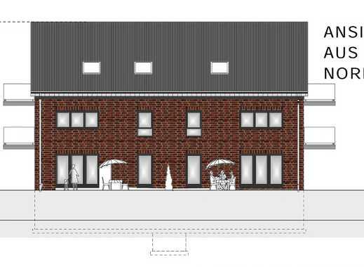 2 Neubau-Mehrfamilienhäuser mit insgesamt 12 Wohnungen und Außenstellplätzen