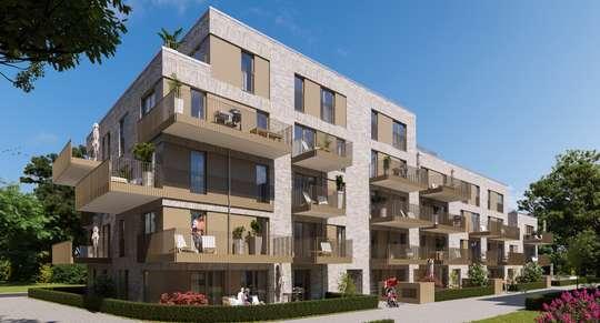 NEUBAU: gehobene 2-Zimmer Wohnung mit großzügigem Westbalkon