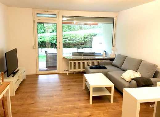 Voll möblierte Wohnung mit Terrasse und Parkplatz / Spühlmaschine / neu renoviert