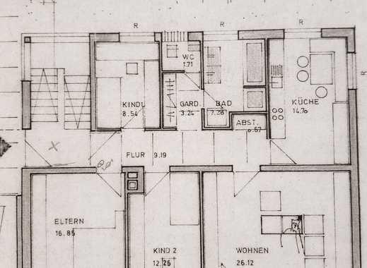 Vollständig renovierte 4-Zimmer-Wohnung mit Balkon in Deggendorf