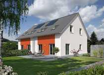 Attraktive Doppelhaushälfte auf dem Grundstück