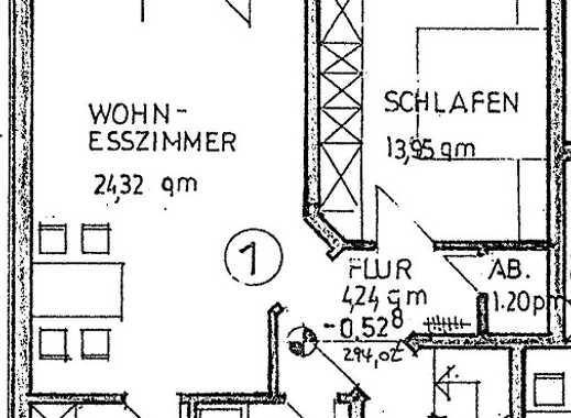 Großzügige 2-Raumwohnung mit Terrasse, Garten und PKW-Stellplatz