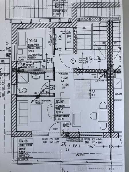 Erstbezug: attraktive 1,5-Zimmer-Dachgeschosswohnung mit Einbauküche und Balkon in Pfarrkirchen in Pfarrkirchen