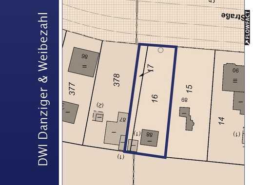 Baugrundstück für kleines Mehrfamilienhaus in Köpenicker Ortslage Dammfeld