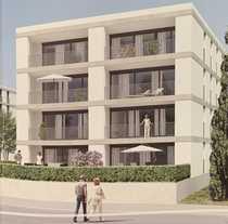 Erstbezug mit Balkon exklusive 3-Zimmer-Wohnung
