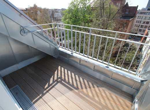 attraktives Dachgeschoss nahe Schloßstraße - PARKETT *** KAMIN *** TERRASSE