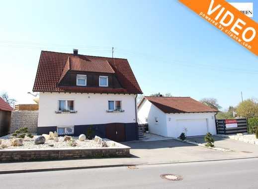 Erfüllen Sie sich Ihren Wohntraum! Schönes Einfamilienwohnhaus mit Doppelgarage in Erlaheim