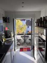 Exklusive sanierte 3-Zimmer-Wohnung mit Balkon