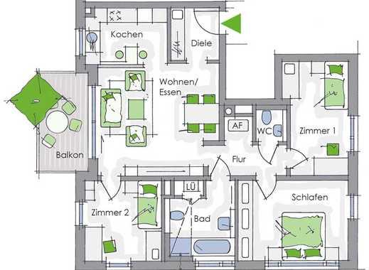 Ideal - auch für Umsteiger - Komfort und Blick ins Grüne!
