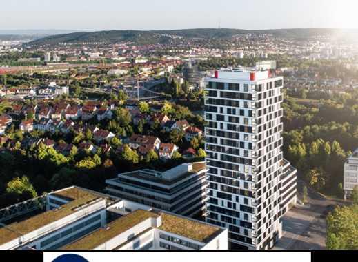 Skyline living - moderne 2,5-Zimmer Wohnung im höchsten Wohnhaus Stuttgarts