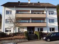 Ruhige Südhang-Wohnung mit Balkon, zentral gelegenen, am Waldrand mit Talblick