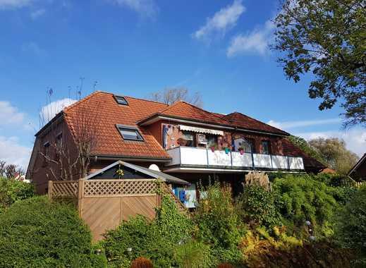 Eine Doppelhaushälfte mit 2 Wohneinheiten im schönen Rüstersiel zu verkaufen!