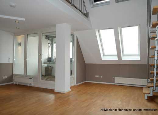 Hannover List Vahrenwald: Peppige, gut ausgestattete Wohnung mit Lift, Loggia und Stellplatz