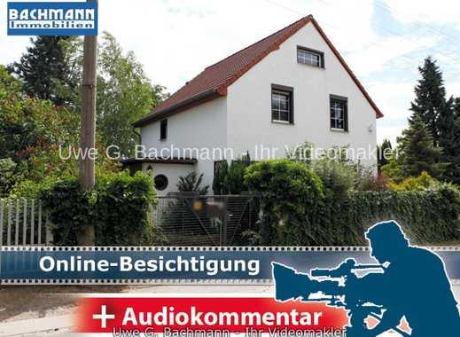 Berlin/Mahlsdorf: Einfamilienhaus mit 4 Zimmern und Vollkeller zur Modernisierung – UWE G. BACHMANN