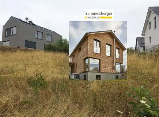 Grundstück Bad Sobernheim meets Frammelsberger Öko Design Holzhaus