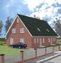 Neubau-Doppelhaushälfte in Niendorf