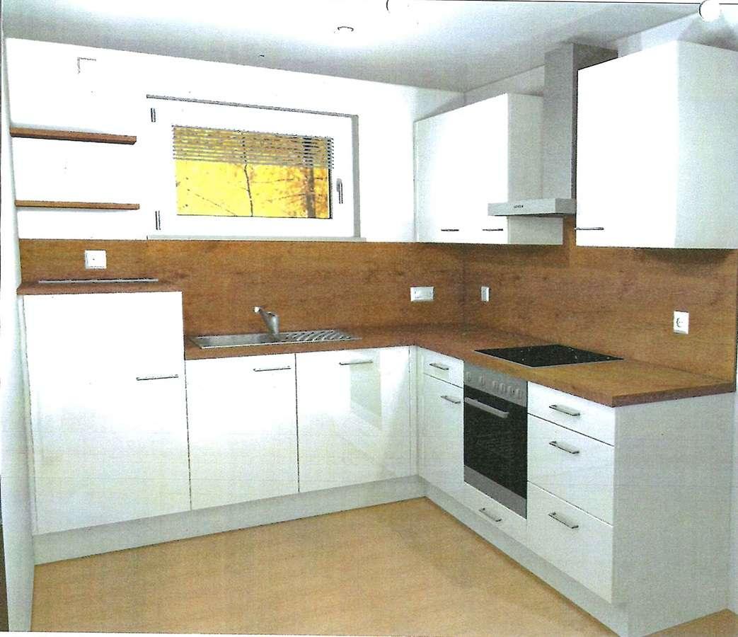 Die 2 - Zimmer - Wohnung mit EBK und Süd - Balkon -neuwertig - in Hallbergmoos