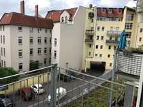1 0-Zimmerwohnung mit Balkon