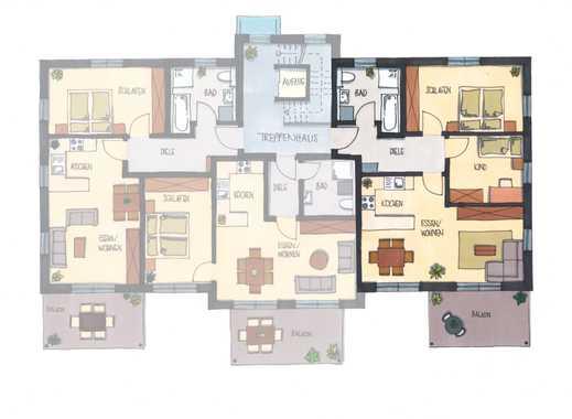 Moderne 3-Zimmer-Wohnung OG mit Balkon