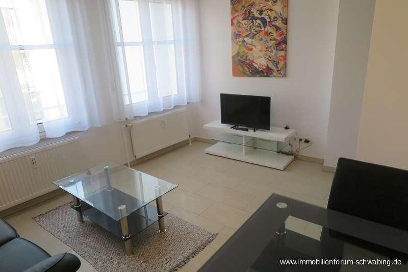 Möblierte 2 Zimmer Wohnung in ansprechendem Architektenhaus - an Einzelperson zu vermieten in Berg am Laim (München)