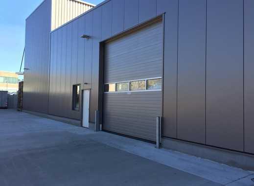Hochwertige, abgeschlossene Produktions- und Lagerhalle in gepflegter Umgebung.