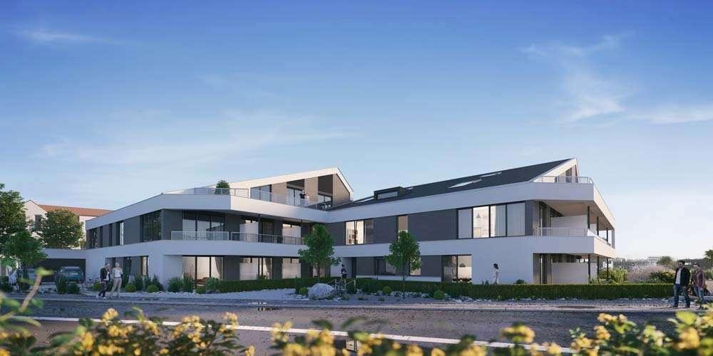 Exklusive 4-Zimmer-Penthouse-Wohnung mit 2 Balkonen in Etting