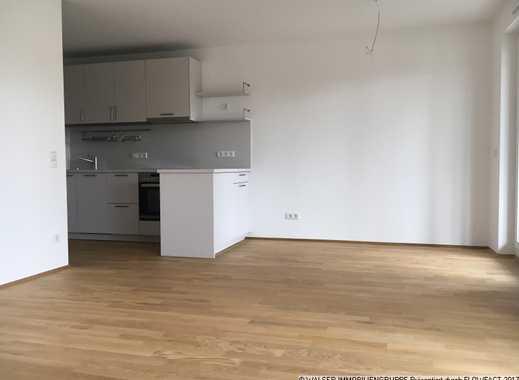 Neubau: 2-Zimmer-Wohnung mit großer Süd-Loggia in Vaterstetten