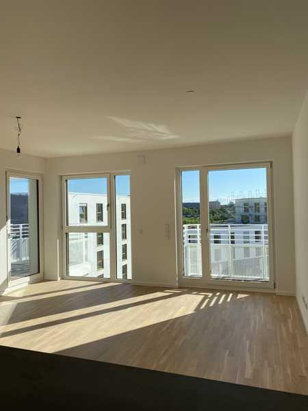 Lichtdurchflutete 2 Zimmer Wohnung mit Alpenblick - Loggia / Balkon - Tageslicht Bad-Neubau in Obermenzing (München)