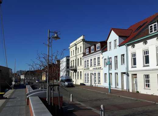 Schöne große 2-Zimmerwohnung in Ueckermünde am Alten Bollwerk mit Blick auf die Uecker