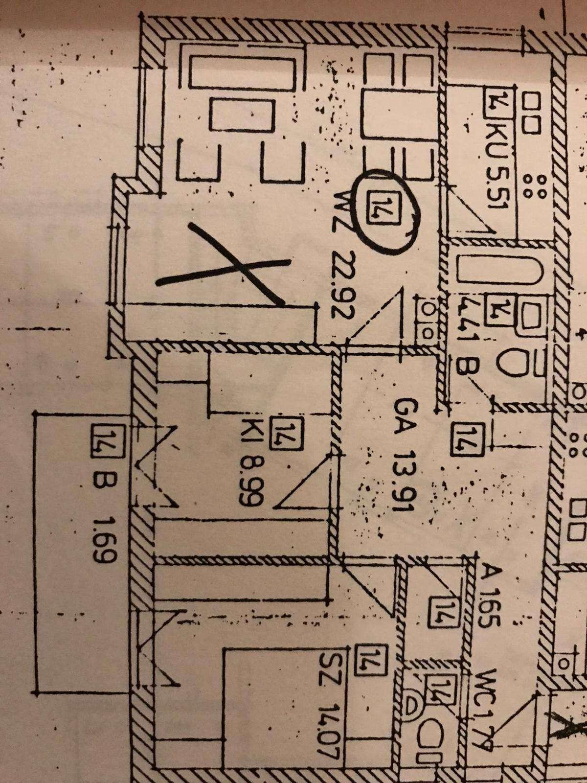 Zentrumsnahe 3-Zimmer-Wohnung mit Balkon und EK in Freising / Neustift in Freising