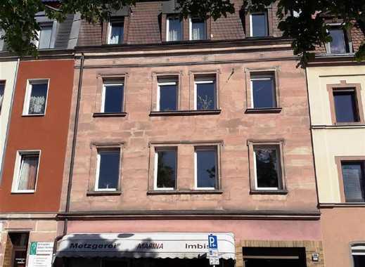 Gut vermietetes 8-Familienhaus mit Ladenlokal und Rückgebäude in Zentrumsnähe von Nürnberg