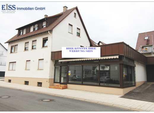 Handwerker und Kapitalanleger aufgepasst! Wohn- und Geschäftshaus im Herzen von Nufringen.