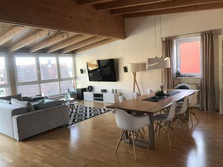 Einmalige Gelegenheit! Hochwertiges Penthouse mit schöner Dachterrasse in ruhiger Siedlungslage in Mainburg