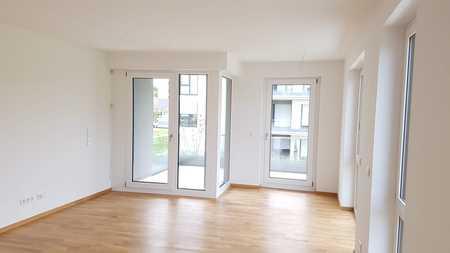 Stilvolle, neuwertige 2-Zimmer-Wohnung mit Loggia und EBK in Altperlach in Perlach (München)