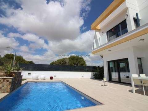 Neubau Luxus Meerblick Villa, 3 Schlafzimmer, 3 Bäder, Pilar De La Horadada