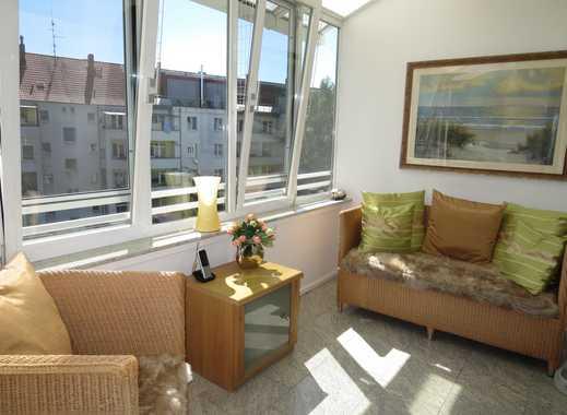 großzügige 3- Zi - Maisonette - Wohnung mit Balkon und Wintergarten, Doppelgarage direkt im Haus