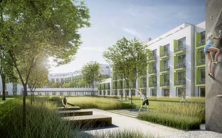 Kurz Zeit Miete ! 01.07. - 30.09.2020 Studentenappartement (nur Studenten/Auszubildende)  in Freimann (München)