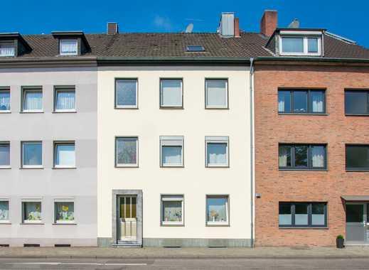 Gut geschnittene 2-Zimmer-Erdgeschoss-Wohnung mit Garten in der Nähe des Volksgarten