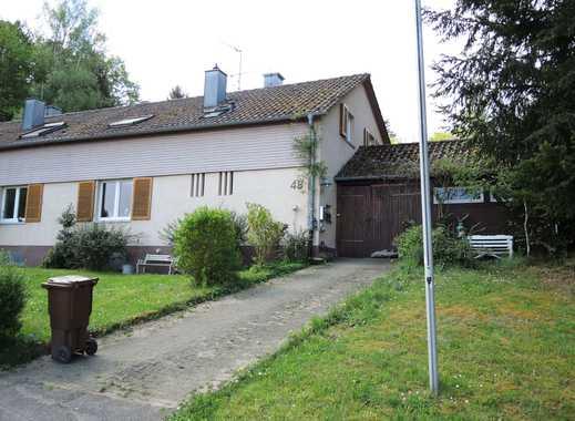 PF-Dillweißenstein, gepflegte Doppelhaushälfte in idyllischer Lage