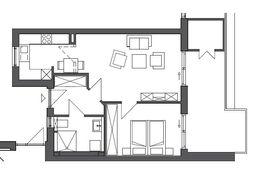 Grundriss Wohnung 47