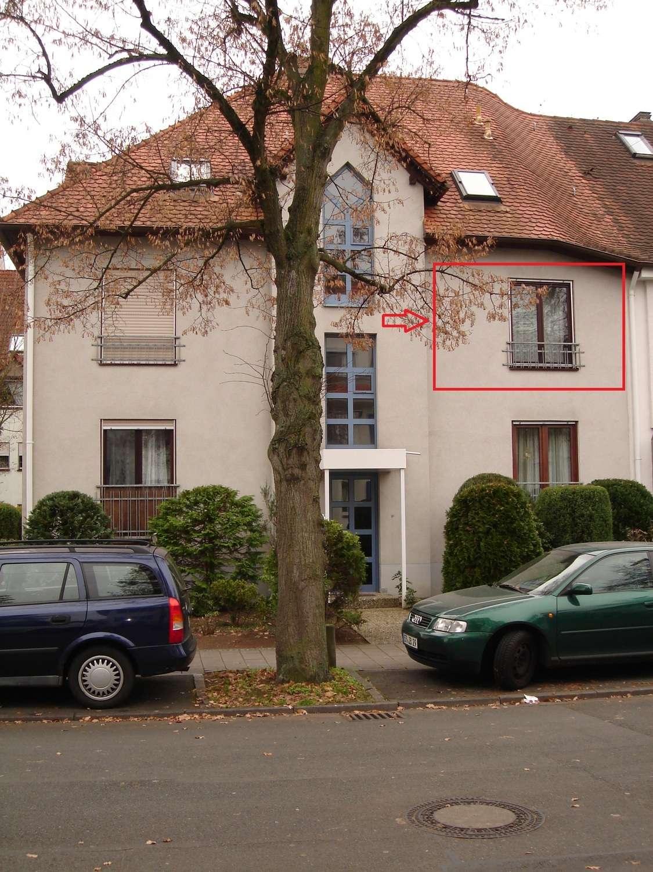 Helle, ruhige 2-Zimmer-Wohnung in 91052 Erlangen in Erlangen Süd (Erlangen)