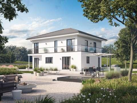 Top Modulares Einfamilienhaus mit Walmdach PH65