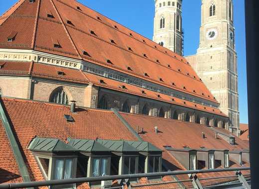 Direkter Blick auf die Frauenkirche: Wunderschöne 3-Zi-DG-Wohnung zu vermieten